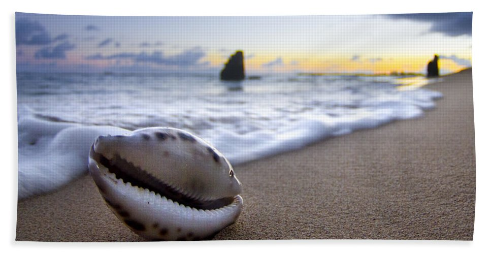 Cowrie Shell Beach Towel featuring the photograph Cowrie Sunrise by Sean Davey
