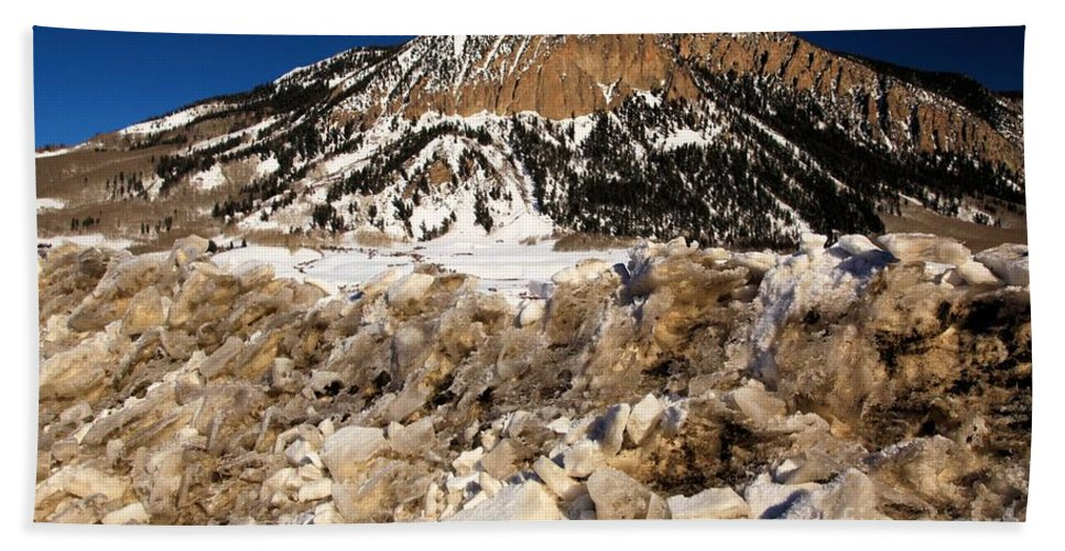 Crested Butte Beach Towel featuring the photograph Crested Butte by Adam Jewell