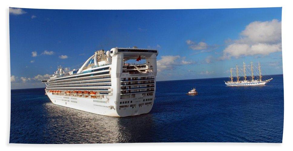 Cruise Beach Towel featuring the photograph Cruising Around by Gary Wonning