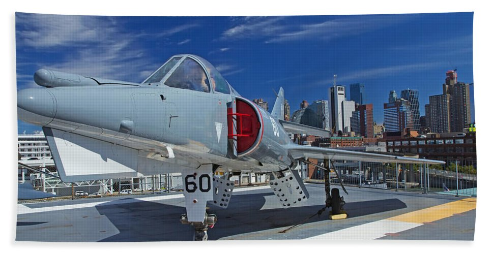 Destination Beach Towel featuring the photograph Dassault Etendard by Jaroslav Frank