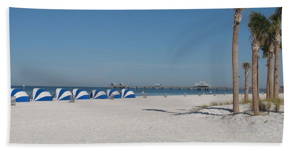 Beach Beach Towel featuring the photograph Day On The Beach by Christiane Schulze Art And Photography