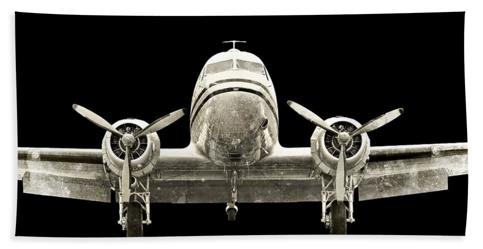Restoration Beach Towel featuring the photograph dc3 by Paul Fell