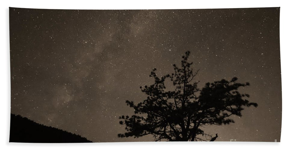 Stars Beach Towel featuring the photograph Deep Deep Deep Into The Night by James BO Insogna