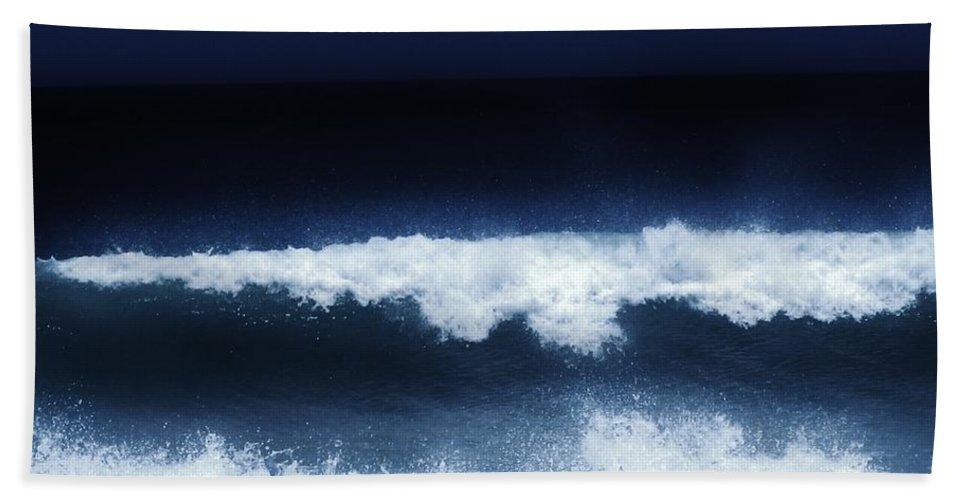 Keri West Beach Towel featuring the photograph Deep Tide by Keri West