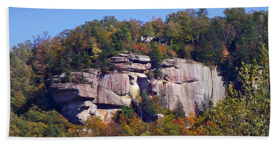 Landscapes Beach Towel featuring the photograph Dunn's Rock 2 by Duane McCullough