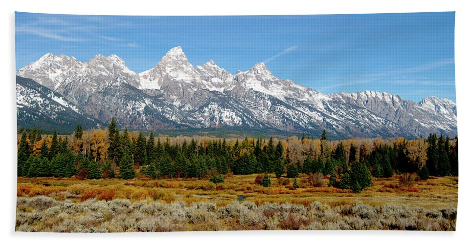 Landscapes Beach Towel featuring the photograph Edge Of Winter by Jeremy Rhoades