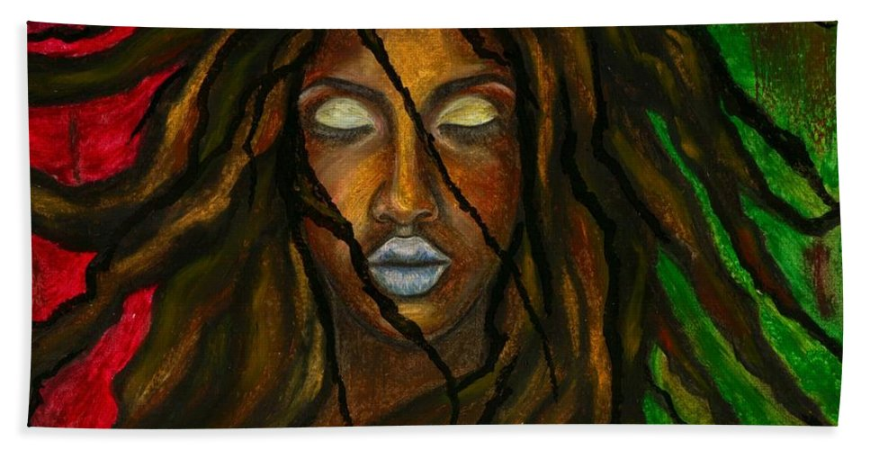 Beautiful Beach Towel featuring the photograph Empress Divine by Artist RiA
