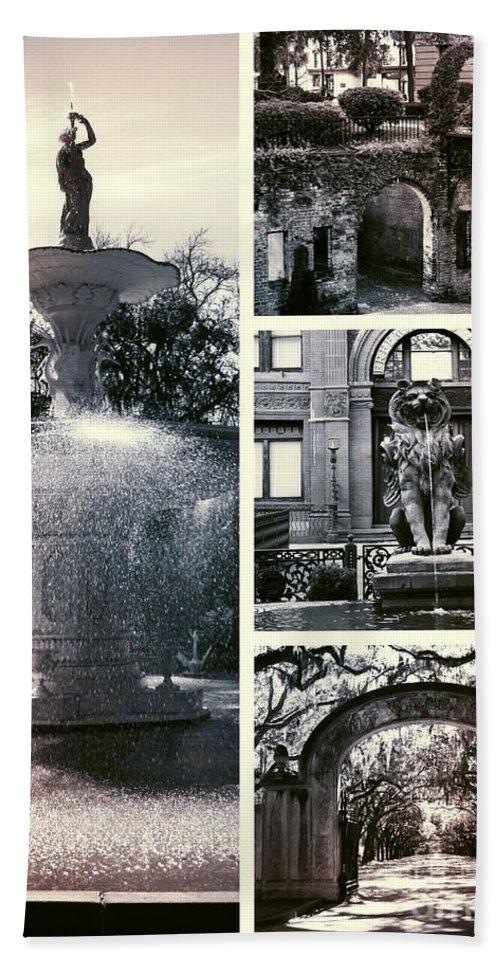 Savannah Beach Towel featuring the photograph Essence Of Savannah by Carol Groenen