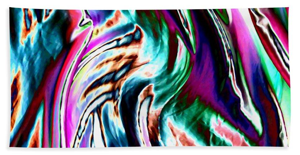 Essence Beach Towel featuring the digital art Essence by Will Borden