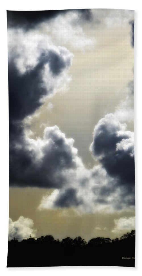 Sky Beach Towel featuring the photograph Eternal Hope by Donna Blackhall