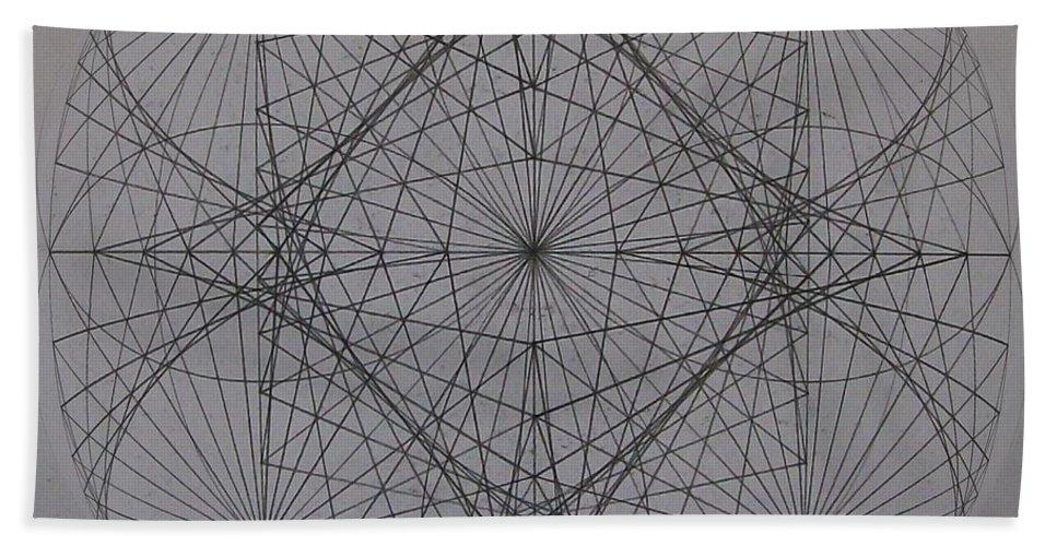 Event Horizon Beach Sheet featuring the digital art Event Horizon by Jason Padgett