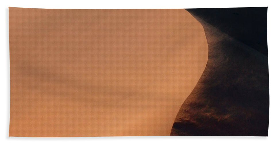 Sossusvlei Beach Towel featuring the photograph Every Day Paints A New Design.. by A Rey