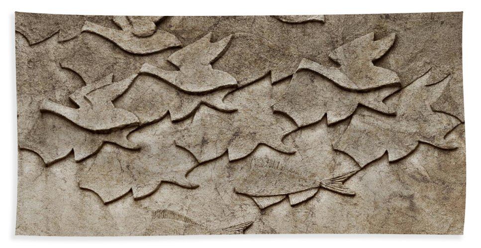 Birds Beach Towel featuring the photograph Evolution No. One by Andrea Kollo