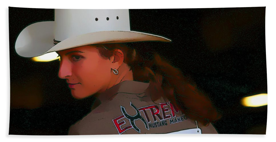 Cowgirl Beach Towel featuring the photograph Extreme Beauty by Alice Gipson