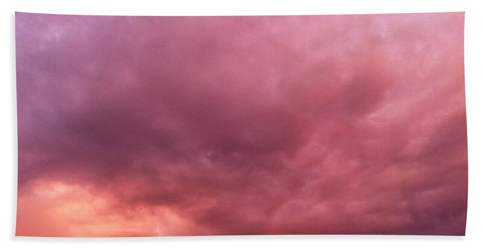 Clouds Beach Towel featuring the photograph Face In The Clouds 2 by Melissa Darnell Glowacki