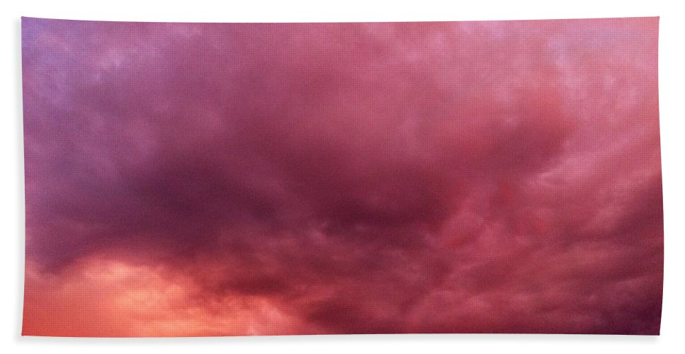 Clouds Beach Towel featuring the photograph Face In The Clouds 3 by Melissa Darnell Glowacki