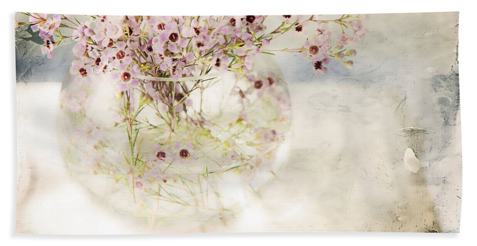 Bouquet Beach Towel featuring the photograph Fairy Bouquet by Theresa Tahara