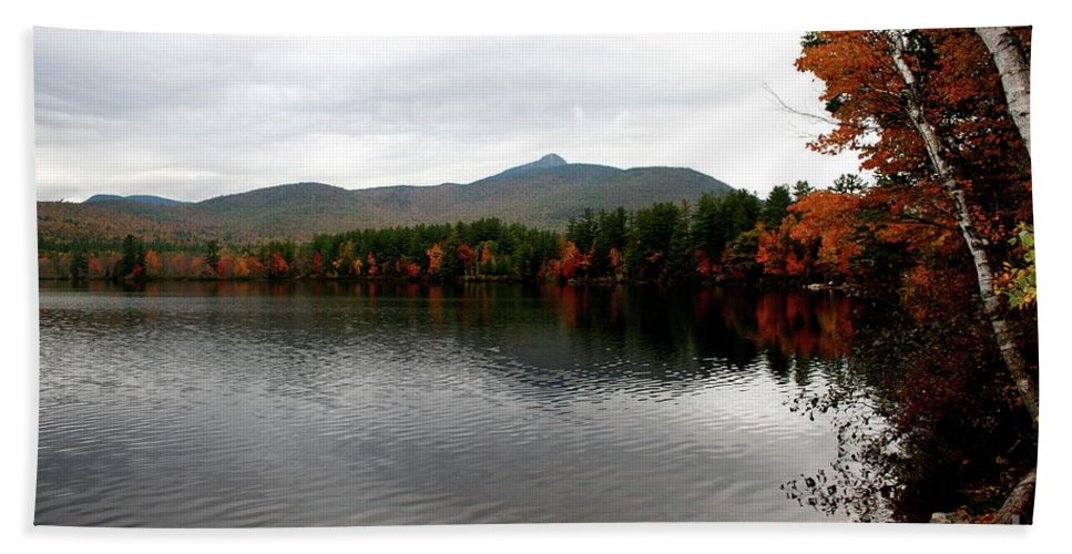 Fall Beach Towel featuring the photograph Fall Reflection II by Christiane Schulze Art And Photography