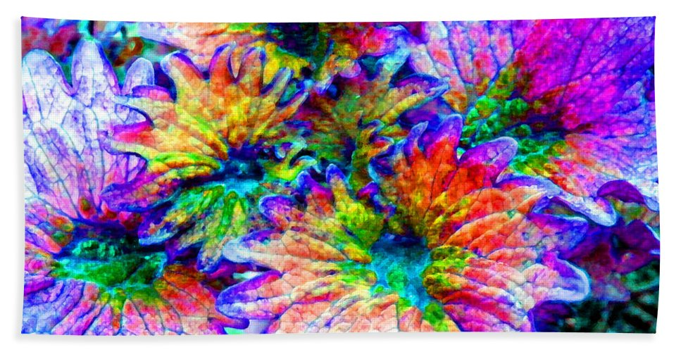 Duane Mccullough Beach Towel featuring the photograph Fantasy Flower 2 by Duane McCullough