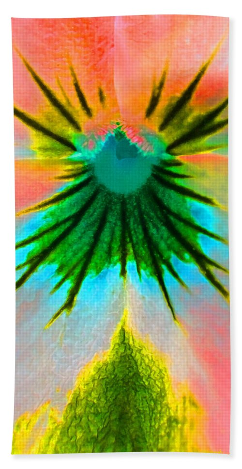 Duane Mccullough Beach Towel featuring the photograph Fantasy Flower 3 by Duane McCullough