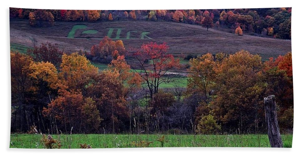 Pennsylvania Beach Towel featuring the photograph Farmers Pride by Christian Mattison