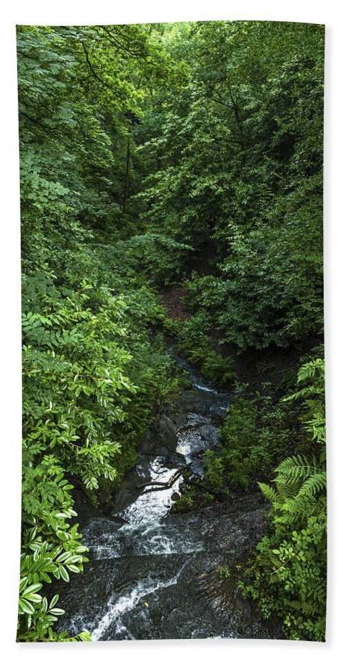 Beautiful Beach Towel featuring the photograph Fast River by Svetlana Sewell