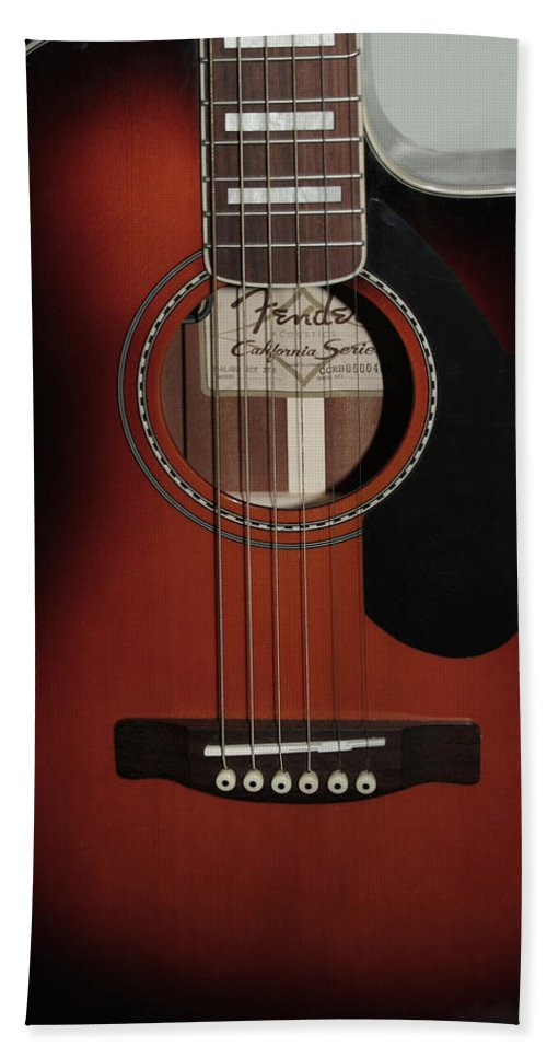 Fender Beach Sheet featuring the photograph Fender by Linda Sannuti
