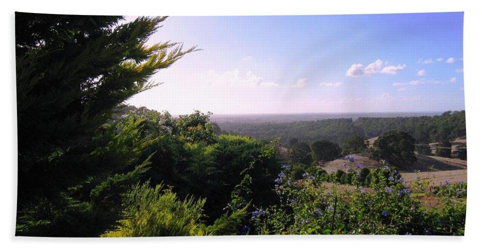 Landscape Beach Towel featuring the photograph Ferguson Valley Landscape by Vickie Roy-Sneddon
