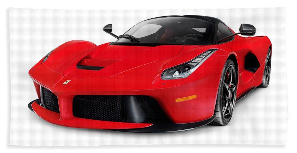 Ferrari F150 Laferrari Supercar Sports Car Beach Towel For Sale By