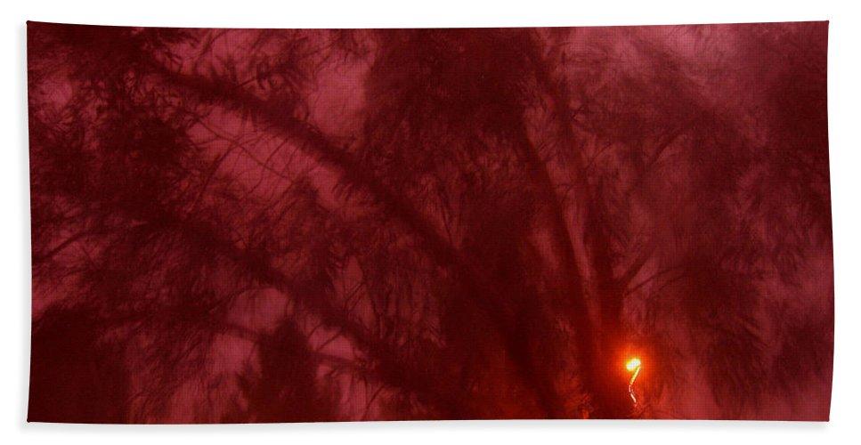 Film Noir Orson Welles Joseph Cotten Journey Into Fear 1942 Summer Storm Trees Casa Grande 2004 Beach Towel featuring the photograph Film Noir Orson Welles Joseph Cotten Journey Into Fear 1942 Summer Storm Trees Casa Grande 2004 by David Lee Guss