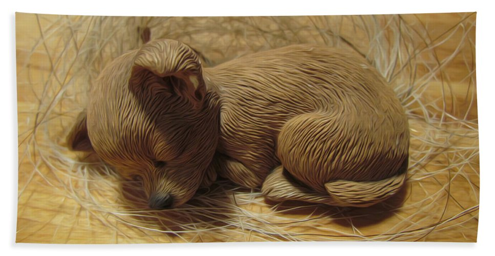 Sculpture Beach Towel featuring the photograph Finding Your Forever Home by Shannon Story