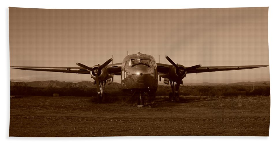 Aeroplane Flight Phoenix Propellors Beach Towel featuring the photograph Flight Of The Phoenix by Susie Rieple