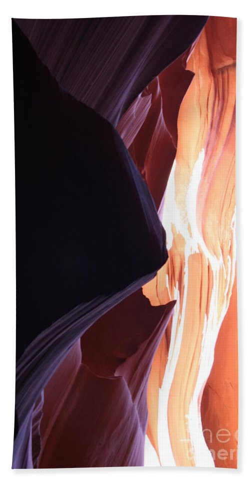Canyon Beach Towel featuring the photograph Floating Sandstone by Christiane Schulze Art And Photography
