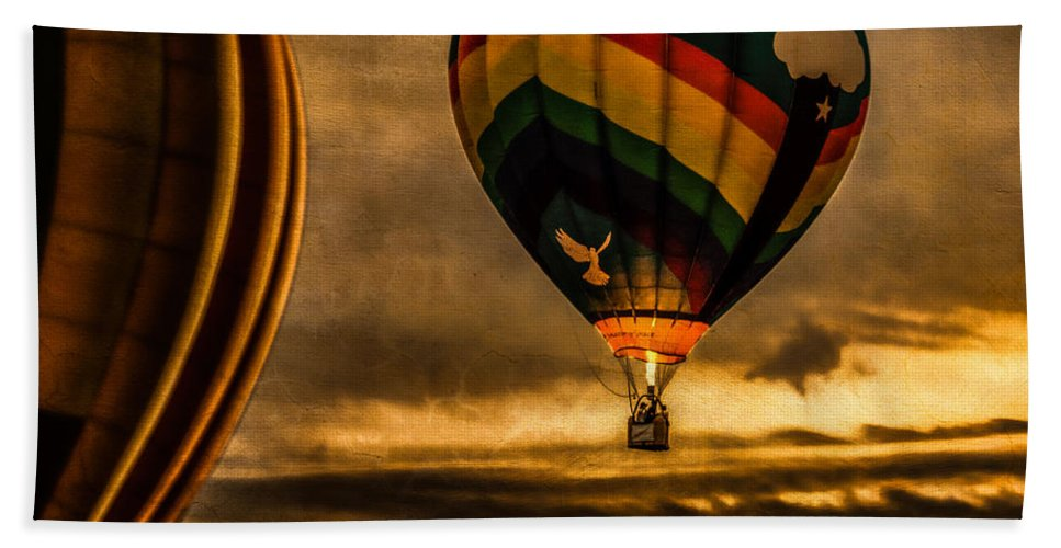 Amazing Grace Beach Towel featuring the photograph Following Amazing Grace by Bob Orsillo