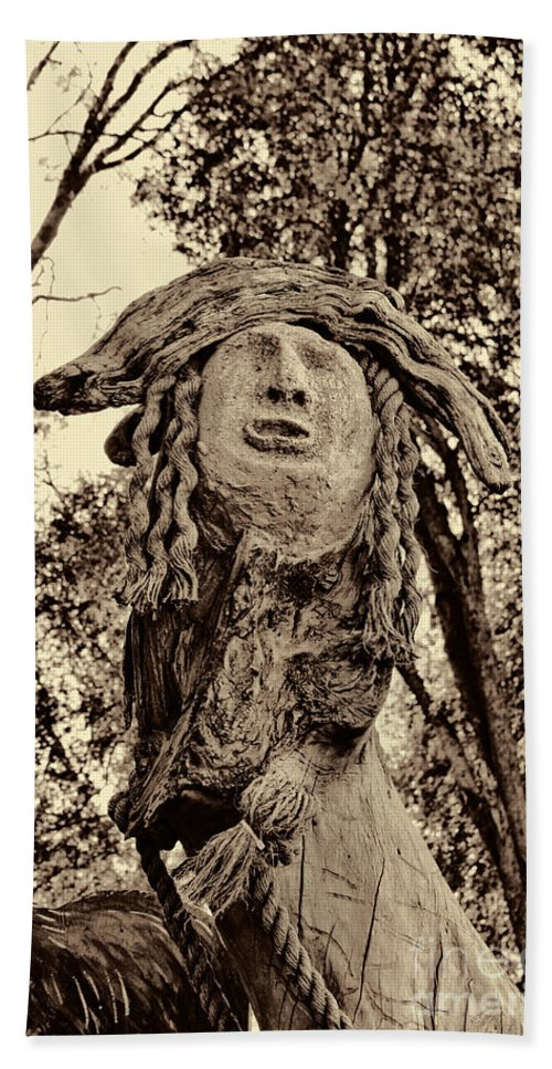 Fall Beach Towel featuring the photograph Forest Gardian by Tommy Anderson