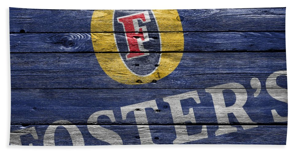 Fosters Beach Towel featuring the photograph Fosters by Joe Hamilton