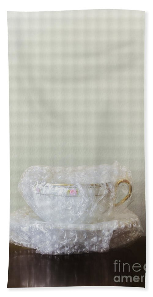 White Beach Towel featuring the photograph Fragile by Margie Hurwich