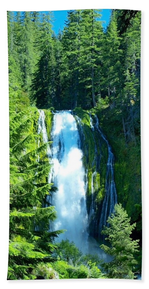 Water Beach Towel featuring the photograph Full View by Teri Schuster