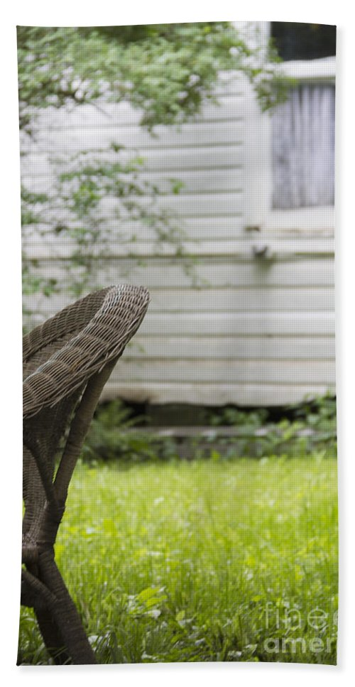 Chair Beach Towel featuring the photograph Garden Seat by Margie Hurwich