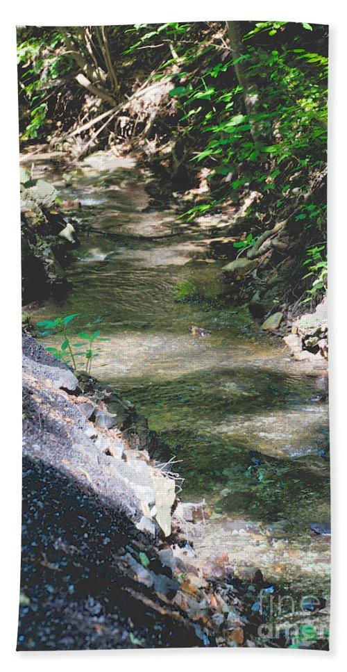 Glen Iris Beach Towel featuring the photograph Glen Iris by William Norton