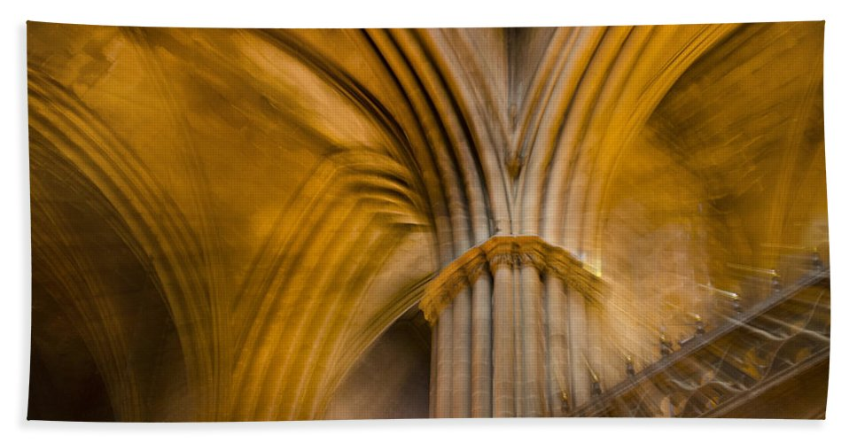 Spain Beach Towel featuring the photograph Gothic Impression by Jack Daulton