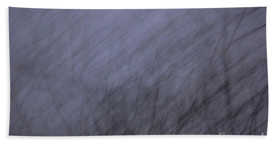 Trees Beach Towel featuring the photograph Gothic Wind by First Star Art