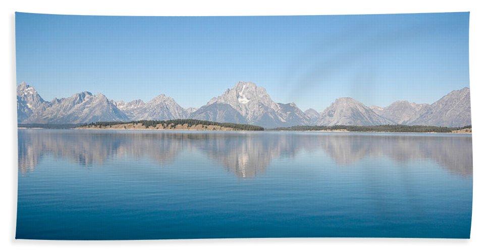 Grand Teton Beach Towel featuring the photograph Grand Teton National Park by Sebastian Musial