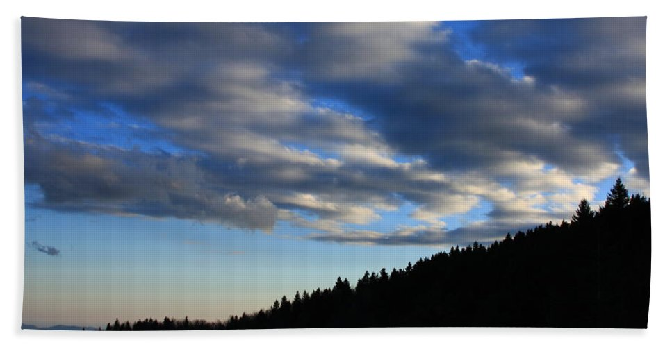 Great Balsam Mountains Beach Towel featuring the photograph Great Balsam Mountains Nc by Mountains to the Sea Photo