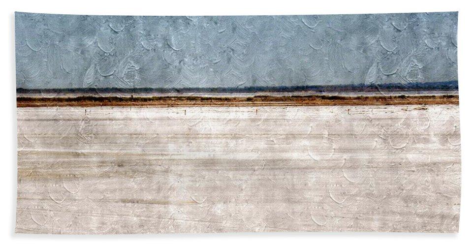 Great Salt Plains Beach Towel featuring the photograph Great Salt Plains by Annie Adkins