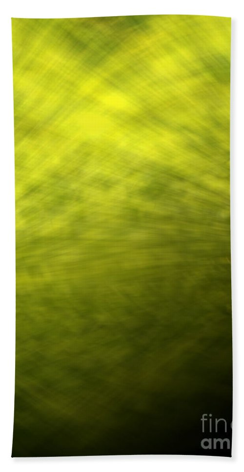Green Beach Towel featuring the photograph Green Background by Tim Hester
