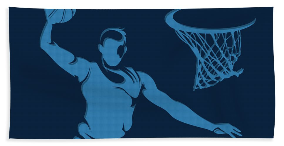 Grizzlies Beach Towel featuring the photograph Grizzlies Shadow Player1 by Joe Hamilton