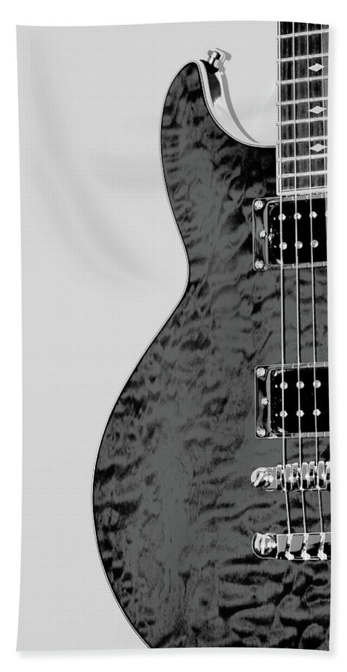 Guitar Beach Towel featuring the photograph Guitar Pic 2 by Karol Livote