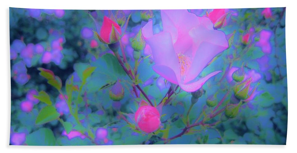 Rose Beach Towel featuring the photograph Gypsy Rose - Flora - Garden by Susan Carella