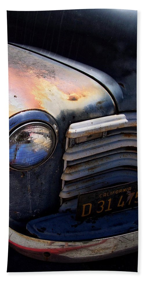 Truck Beach Towel featuring the photograph Herbie's Father by Donna Blackhall